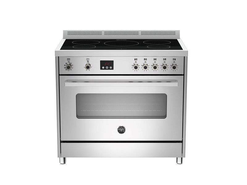 90 cm induction top, Electric Oven | Bertazzoni - Stainless Steel